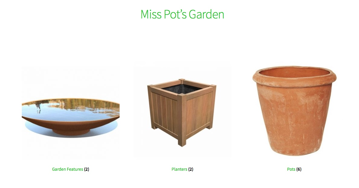 Miss Pot's Garden - The Online Shop for Teresa Potter Garden & Landscape Design